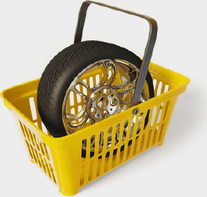 Atlas Tyres Basket